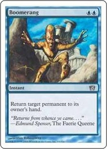 Magic the Gathering Eighth Edition Single Card Common #63 Boomerang