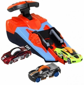 GX Racers Custom Made Stunt Car Gift Set [Includes 3 Random Stunt Cars & Turbo Launcher]
