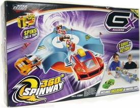 GX Racers 1:64 Cars Playset 360 Degrees Spinway Track Set