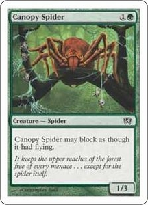 Magic the Gathering Eighth Edition Single Card Common #236 Canopy Spider