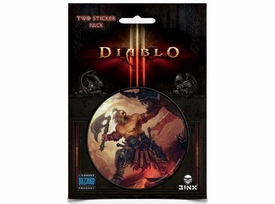 Diablo III Sticker 2-Pack Barbarian