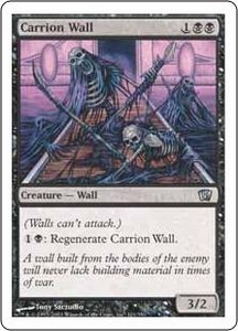 Magic the Gathering Eighth Edition Single Card Uncommon #121 Carrion Wall