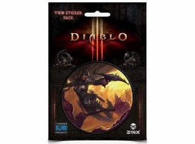 Diablo III Sticker 2-Pack Demon Hunter