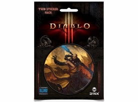 Diablo III Sticker 2-Pack Monk