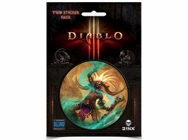 Diablo III Sticker 2-Pack Witch Doctor