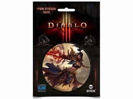 Diablo III Sticker 2-Pack Wizard