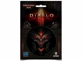 Diablo III Sticker 2-Pack Diablo Face
