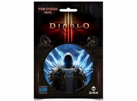 Diablo III Sticker 2-Pack Tyrael