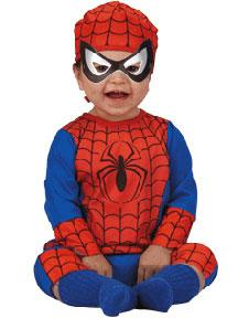 Spider-Man #5455 Spider-Man Costume (Child Infant Size 12-18m)
