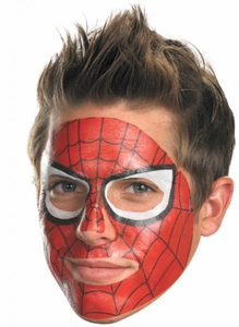 Spider-Man #11621 Face Tattoo
