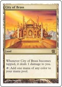 Magic the Gathering Eighth Edition Single Card Rare #322 City of Brass