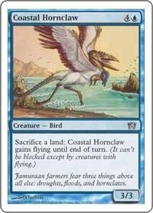 Magic the Gathering Eighth Edition Single Card Common #66 Coastal Hornclaw