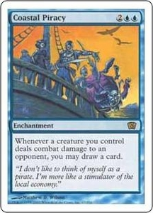Magic the Gathering Eighth Edition Single Card Rare #67 Coastal Piracy