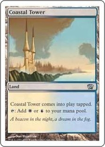 Magic the Gathering Eighth Edition Single Card Uncommon #323 Coastal Tower