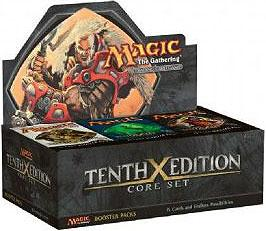 Magic the Gathering 10th Edition Booster Box [36 packs]