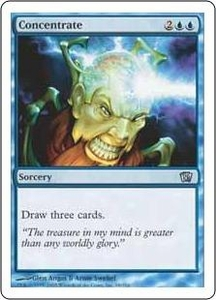 Magic the Gathering Eighth Edition Single Card Uncommon #68 Concentrate