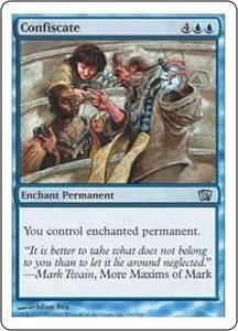 Magic the Gathering Eighth Edition Single Card Uncommon #69 Confiscate