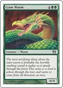 Magic the Gathering Eighth Edition Single Card Common #239 Craw Wurm