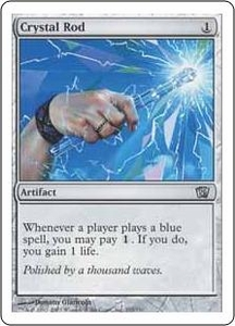 Magic the Gathering Eighth Edition Single Card Uncommon #295 Crystal Rod