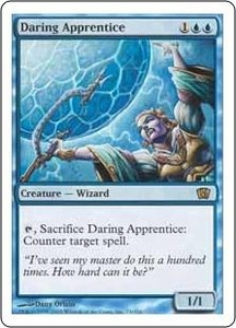 Magic the Gathering Eighth Edition Single Card Rare #73 Daring Apprentice