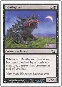 Magic the Gathering Eighth Edition Single Card Uncommon #126 Deathgazer