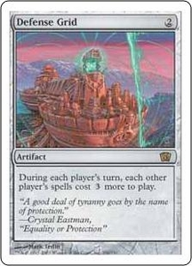Magic the Gathering Eighth Edition Single Card Rare #296 Defense Grid