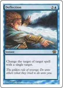 Magic the Gathering Eighth Edition Single Card Rare #74 Deflection