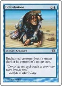 Magic the Gathering Eighth Edition Single Card Common #75 Dehydration