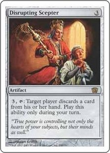 Magic the Gathering Eighth Edition Single Card Rare #298 Disrupting Scepter