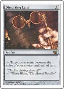 Magic the Gathering Eighth Edition Single Card Rare #299 Distorting Lens