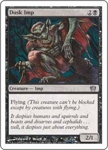 Magic the Gathering Eighth Edition Single Card Common #130 Dusk Imp