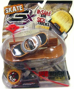 GX Racers Skate SK8 Bench Stunt Starter Set with 58mm Deck Plate [Free Ride Board]