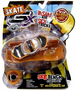 GX Racers Skate SK8 Bench Stunt Starter Set with Autobahn Deck Plate [Arrowhead Board] BLOWOUT SALE!