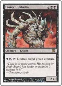 Magic the Gathering Eighth Edition Single Card Rare #131 Eastern Paladin