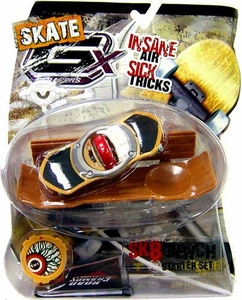 GX Racers Skate SK8 Bench Stunt Starter Set with Eye Deck Plate [Arrowhead Board] BLOWOUT SALE!