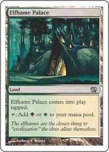 Magic the Gathering Eighth Edition Single Card Uncommon #324 Elfhame Palace