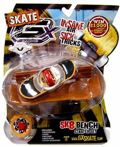 GX Racers Skate SK8 Bench Stunt Starter Set with Scarez Deck Plate [Free Ride Board] BLOWOUT SALE!
