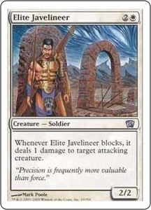 Magic the Gathering Eighth Edition Single Card Uncommon #19 Elite Javelineer