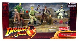 Indiana Jones Movie Deluxe Exclusive Action Figure 5-Pack Tank Showdown [Dr. Henry Jones, Indy, Col. Vogel & 2 German Soldiers]