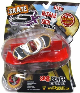 GX Racers Skate SK8 Bench Stunt Starter Set with Strike 60mm Deck Plate [Arrowhead Board] BLOWOUT SALE!