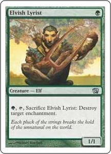 Magic the Gathering Eighth Edition Single Card Uncommon #242 Elvish Lyrist