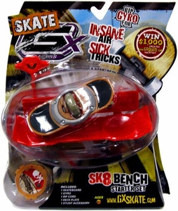 GX Racers Skate SK8 Bench Stunt Starter Set with Traditionz 56mm Deck Plate [Free Ride Board] BLOWOUT SALE!