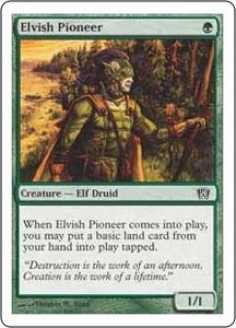Magic the Gathering Eighth Edition Single Card Common #243 Elvish Pioneer