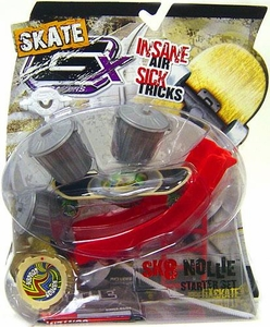 GX Racers Skate SK8 Nollie Stunt Starter Set with Hypnoz Deck Plate [Freeride Board] BLOWOUT SALE!