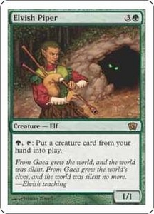 Magic the Gathering Eighth Edition Single Card Rare #244 Elvish Piper