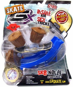 GX Racers Skate SK8 Nollie Stunt Starter Set with Landshark 55mm Deck Plate [Bullet Board] BLOWOUT SALE!