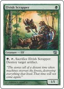 Magic the Gathering Eighth Edition Single Card Uncommon #245 Elvish Scrapper