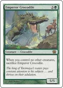 Magic the Gathering Eighth Edition Single Card Rare #246 Emperor Crocodile