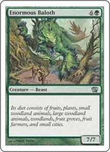 Magic the Gathering Eighth Edition Single Card Uncommon #6 Enormous Baloth
