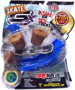 GX Racers Skate SK8 Nollie Stunt Starter Set with Nightmare Deck Plate [Bullet Board] BLOWOUT SALE!